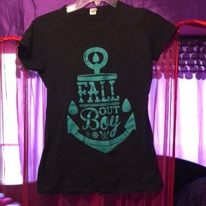 Fall Out Boy band tee from Hot Topic